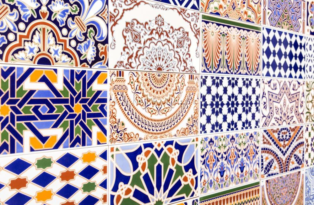Cas new mix 14 x 28 cm - Marokkanische bodenfliesen ...